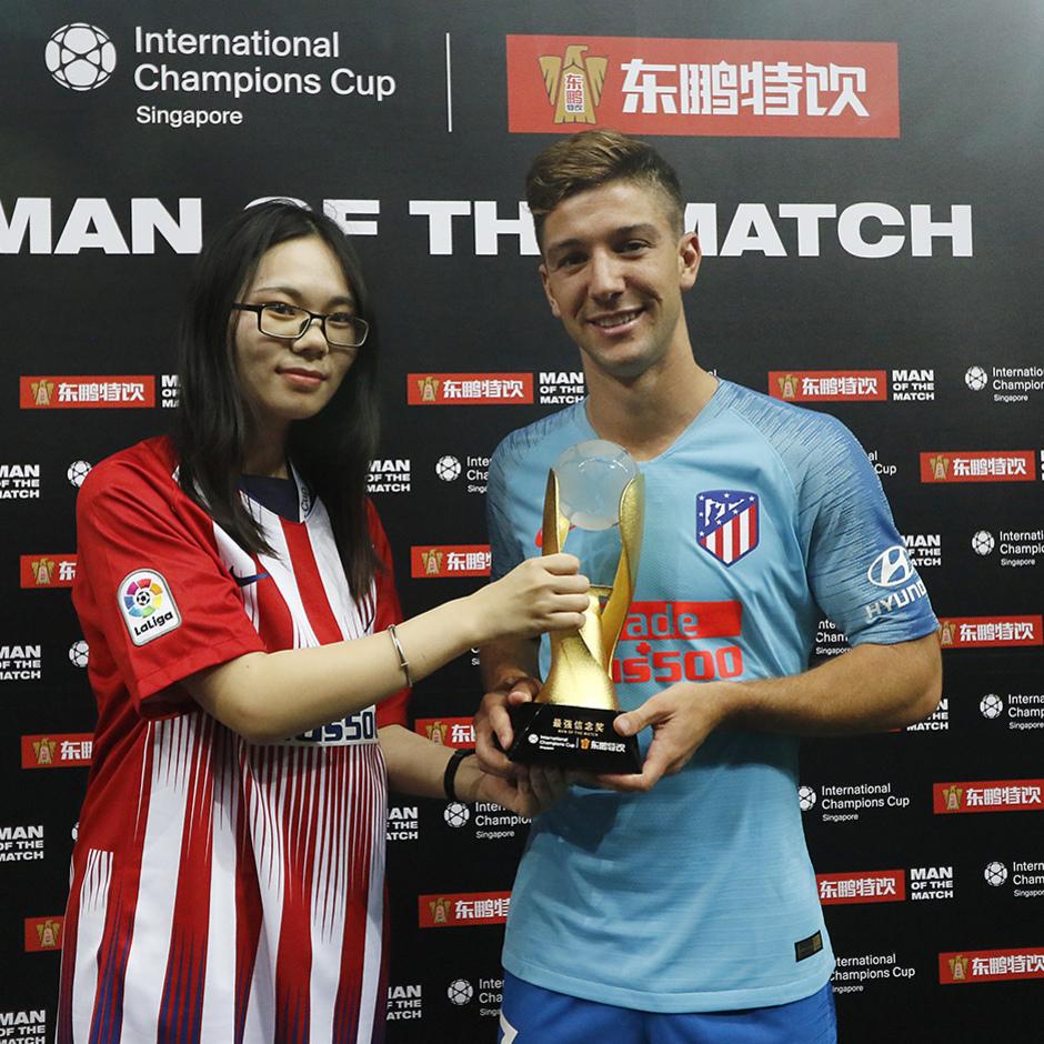 Temporada 2018-2019 | ICC Singapur | Atlético de Madrid - Arsenal | Vietto
