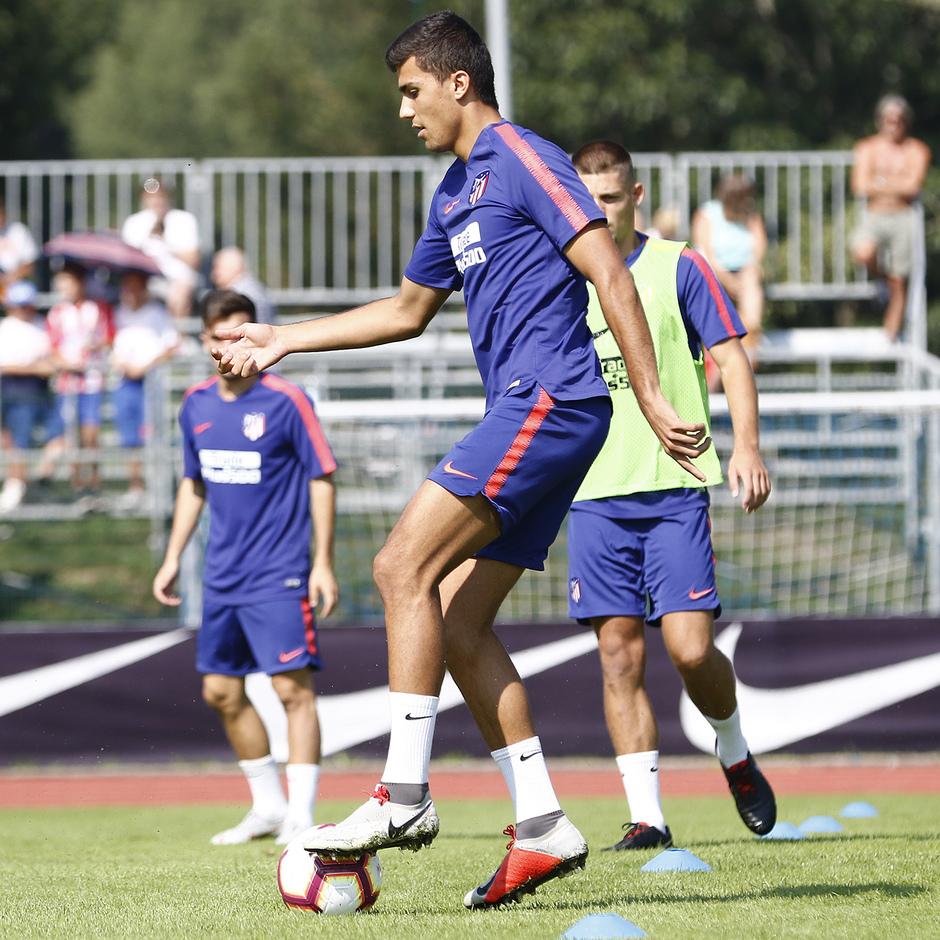 Temporada 2018-2019 | Brunico | Entrenamiento | Rodrigo