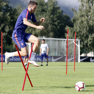 Temporada 2018-2019 | Brunico | Entrenamiento | Saúl