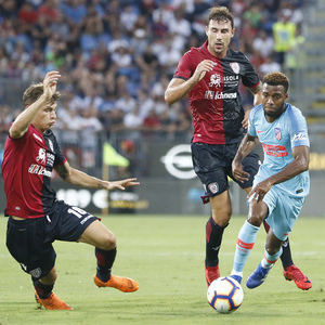 Temporada 2018-2019   Cagliari-Atlético de Madrid   Lemar