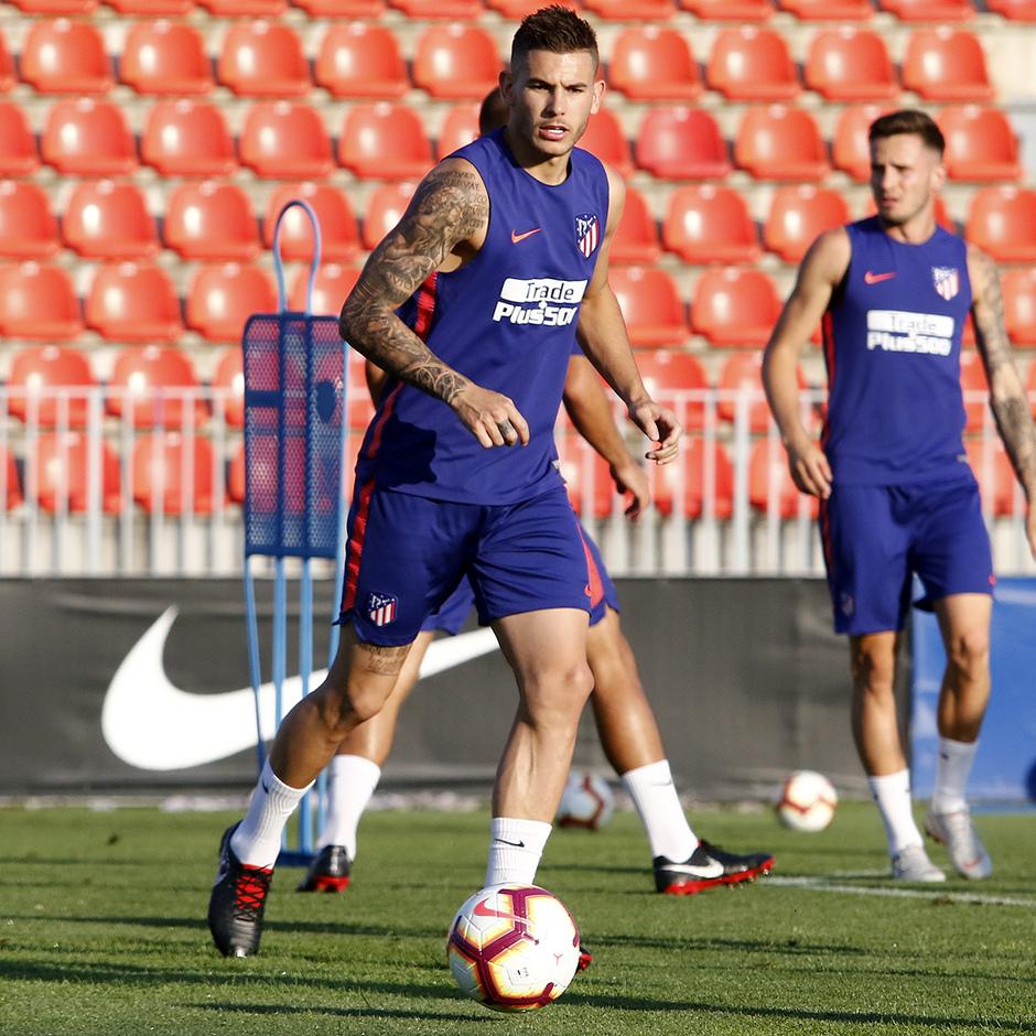 Temporada 2018-2019 | Entrenamiento Ciudad Deportiva Wanda | Lucas