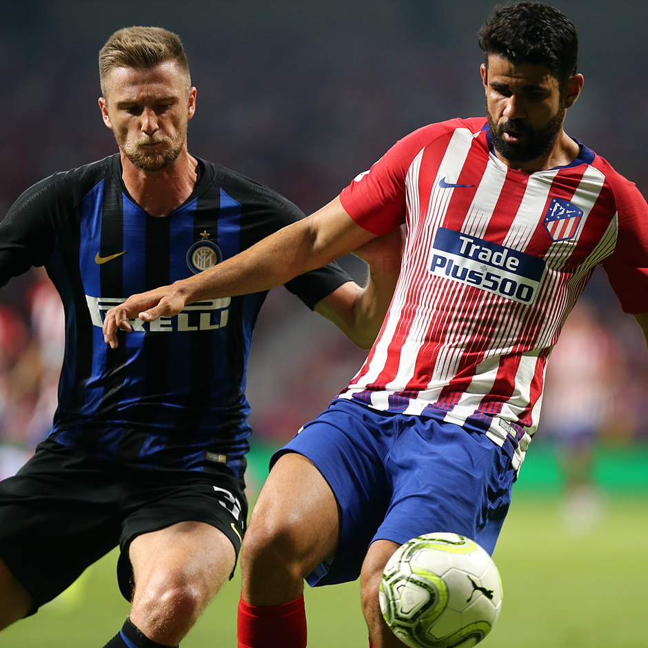 Temporada 2018-2019 | Atlético de Madrid - Inter | Diego Costa