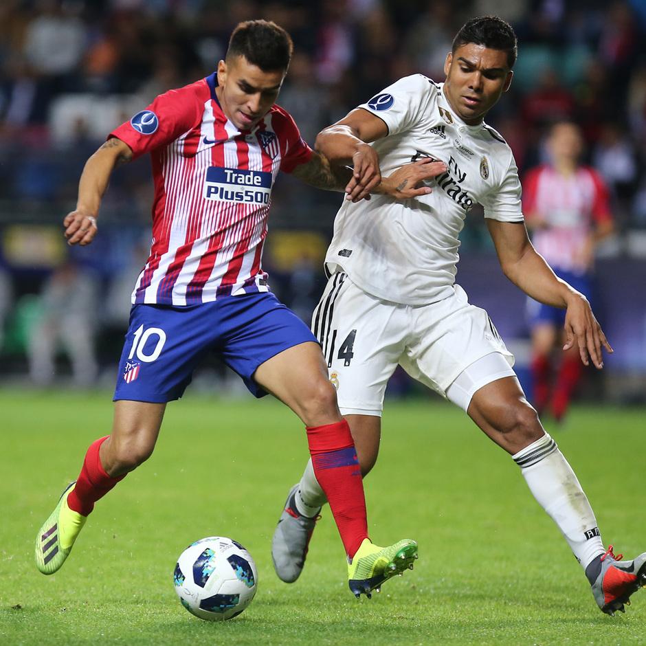 temporada 18/19. Supercopa de Europa. Correa