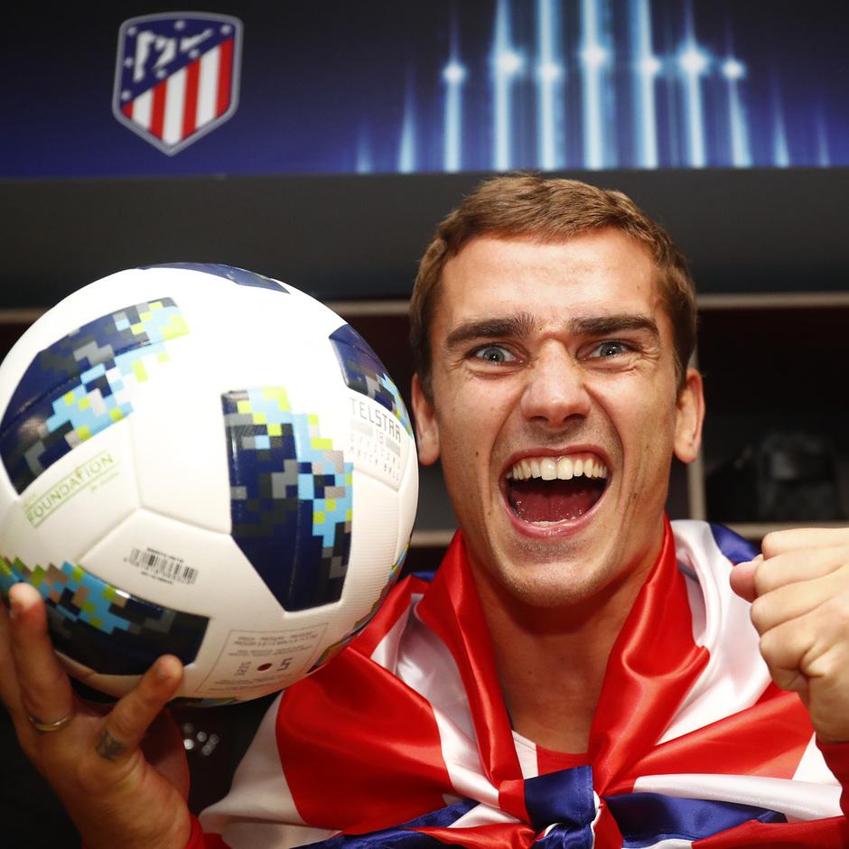 temporada 18/19. Supercopa de Europa. Griezmann