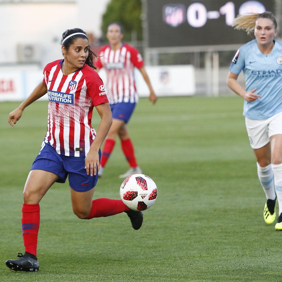 Temporada 2018-2019 | Atlético de Madrid Femenino - Manchester City Femenino | Kenti Robles