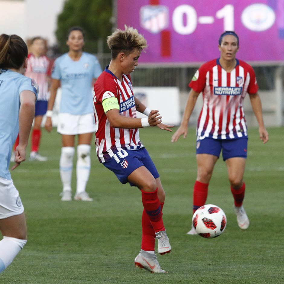 Temporada 2018-2019 | Atlético de Madrid Femenino - Manchester City Femenino | Amanda