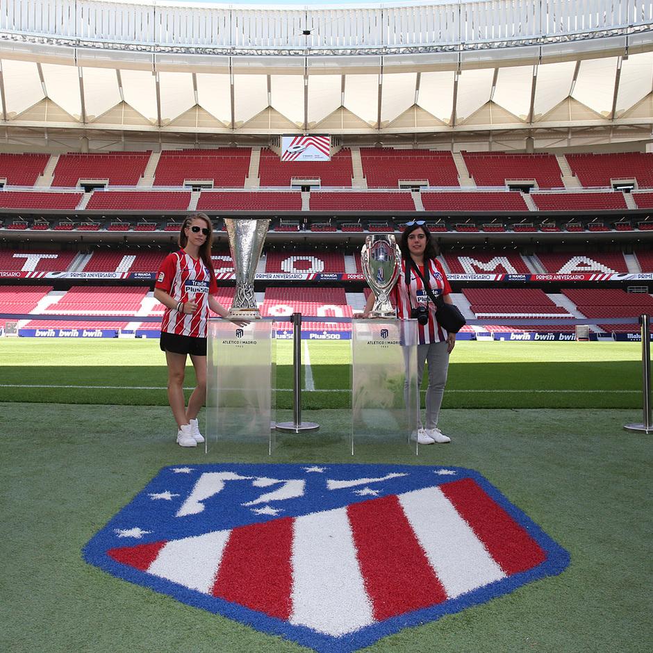 temporada 18/19. Tour Wanda Metropolitano. Cumpleaños
