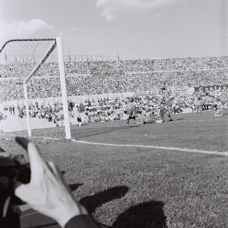 Año 1958 | Atlético de Madrid - Drumcondra FC | Primer partido europeo del club