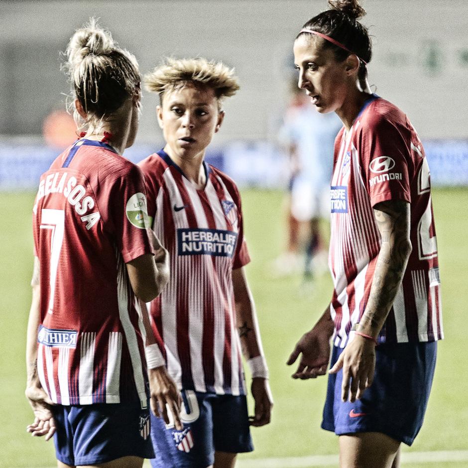 Temporada 18/19 | La otra mirada Manchester City - Atlético de Madrid Femenino | Ángela, Amanda y Jenni