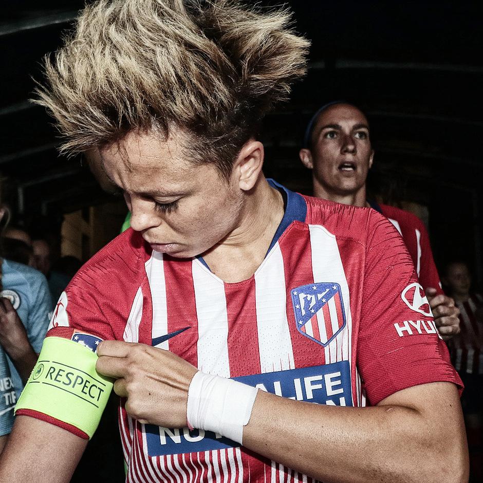 Temporada 18/19 | La otra mirada Manchester City - Atlético de Madrid Femenino | Amanda Sampedro