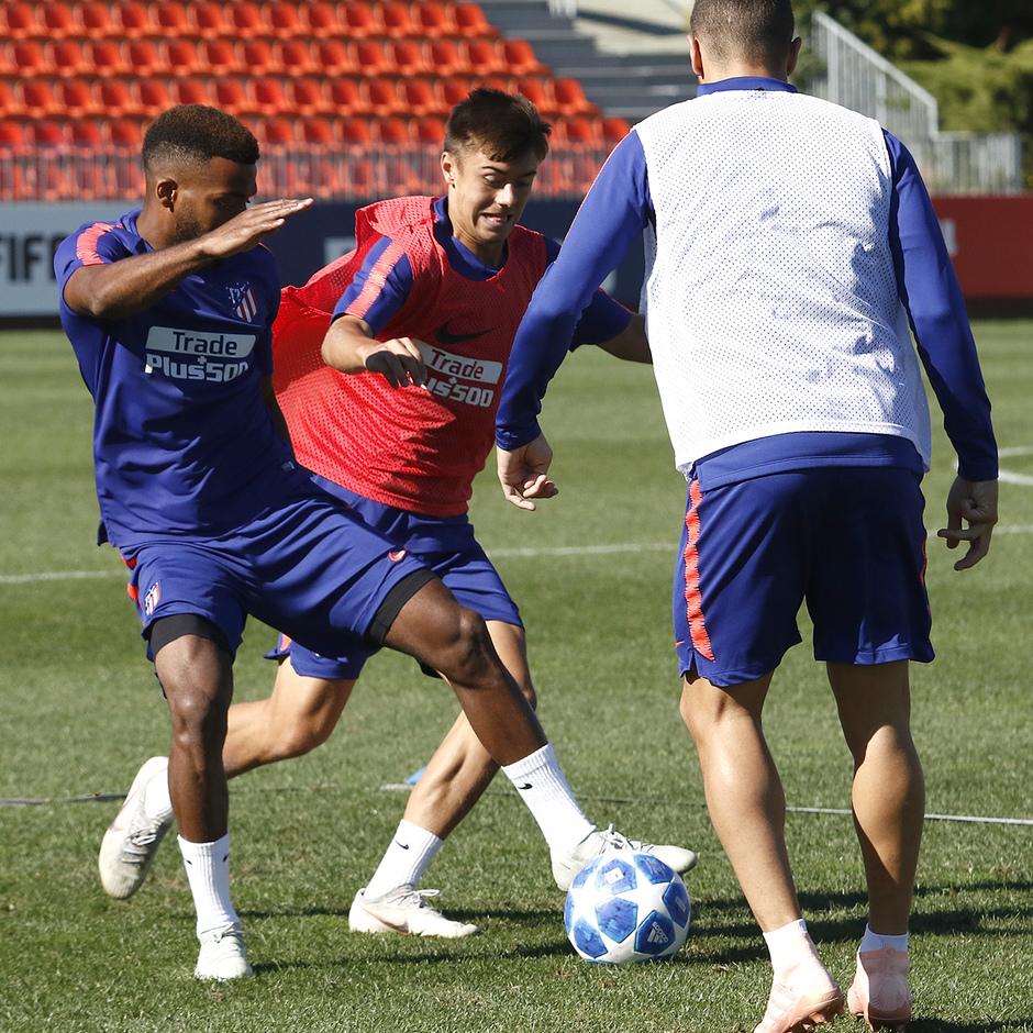Temporada 18/19 | 01/10/2018 |  Entrenamiento en la Ciudad Deportiva Wanda | Lemar