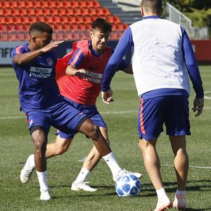 Temporada 18/19   01/10/2018    Entrenamiento en la Ciudad Deportiva Wanda   Lemar