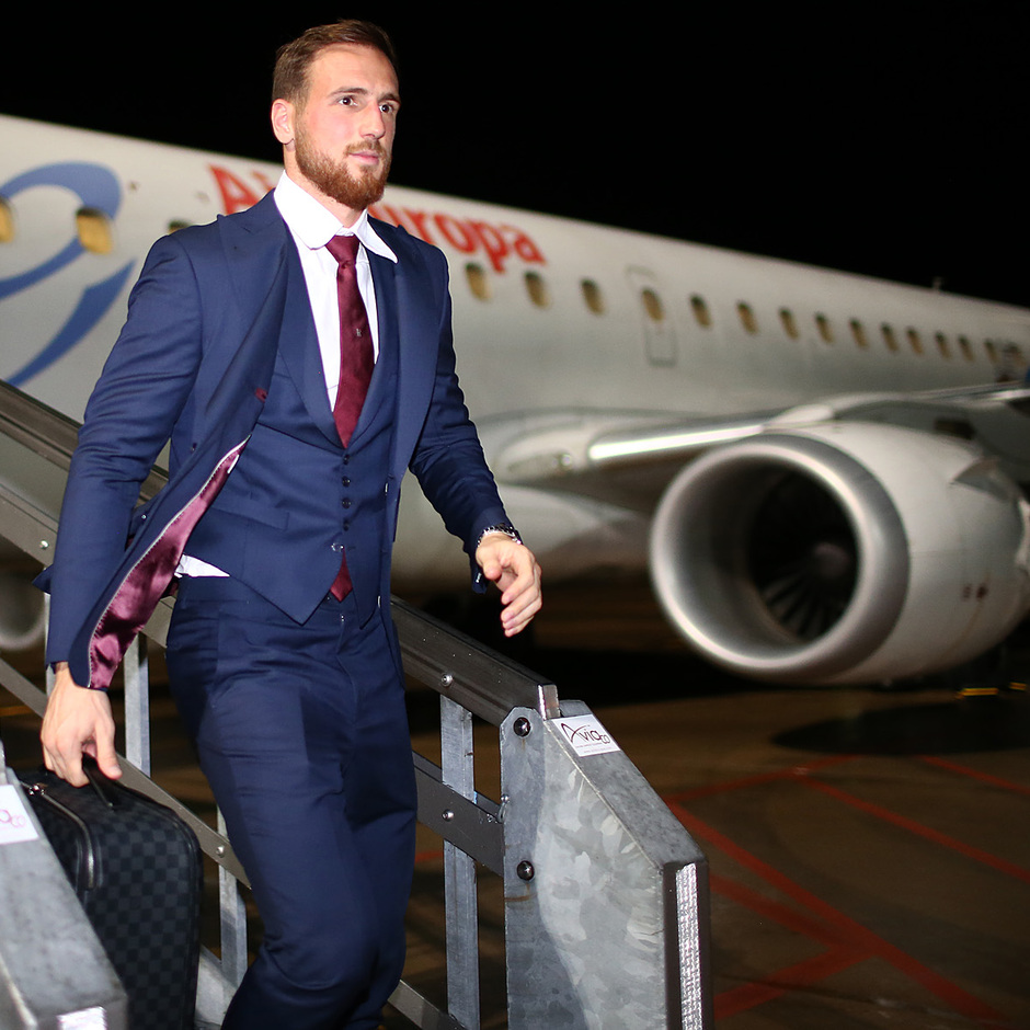 Temporada 18/19 | Villarreal - Atleti | Llegada | Oblak
