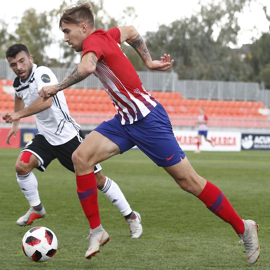 Temporada 18/19 | Atlético de Madrid B - Salmantino | Darío