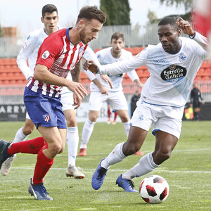 Temporada 18/19   Atlético de Madrid  B - Deportivo Fabril   Ricard