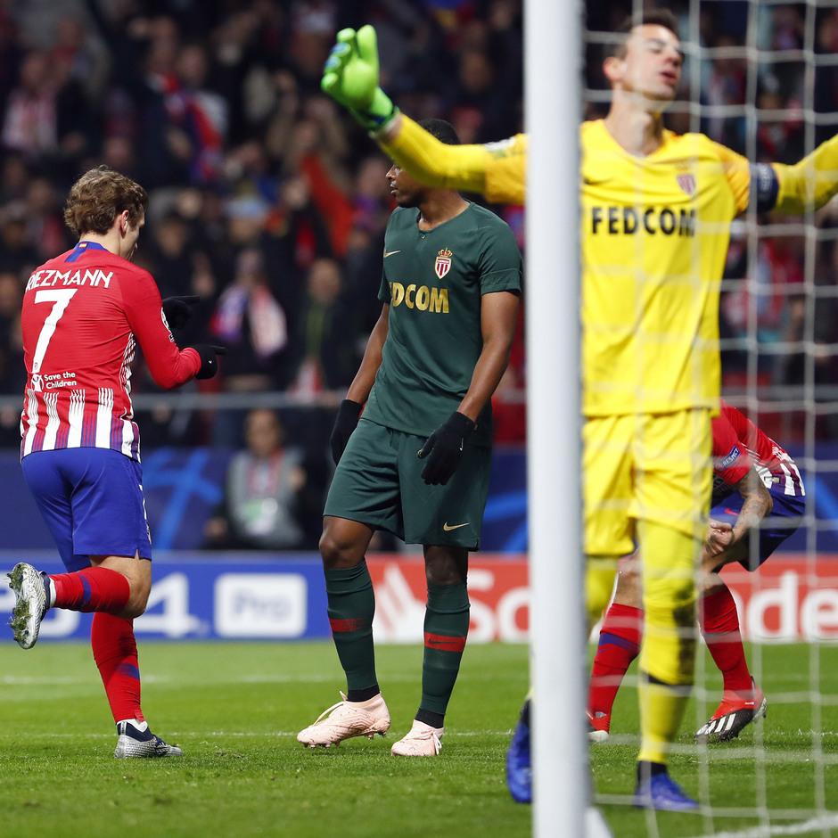 Temp. 18-19 | Atlético de Madrid - Mónaco | Gol Griezmann