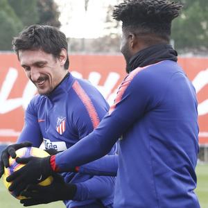 Temporada 2018-2019 | Entrenamiento Ciudad Deportiva Wanda | Savic y Thomas