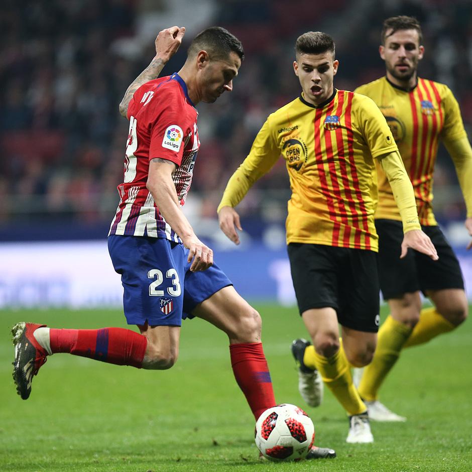 Temporada 18/19 | Atleti - Sant Andreu | gol Vitolo