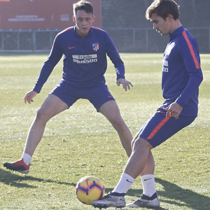 Temporada 18/19 | 06/12/2018 | Entrenamiento en la Ciudad Deportiva Wanda | Griezmann