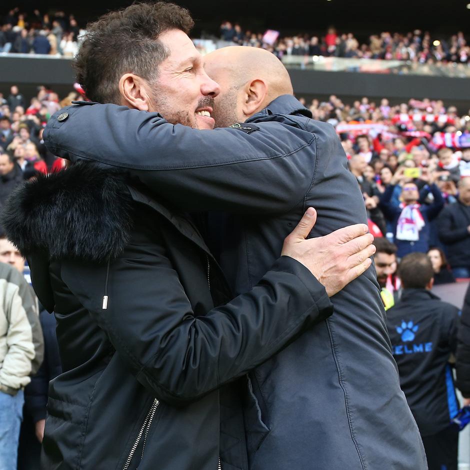 Temporada 2018-2019 | Atlético de Madrid - Alavés | Simeone y Abelardo