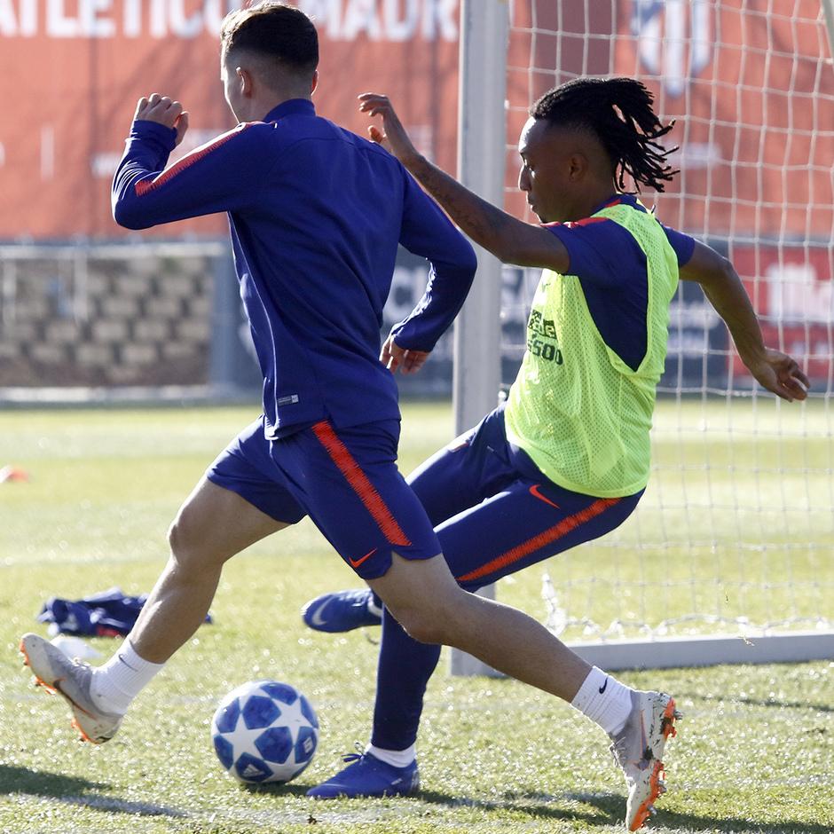 Temp. 18-19 | Entrenamiento en la Ciudad Deportiva Wanda | Gelson