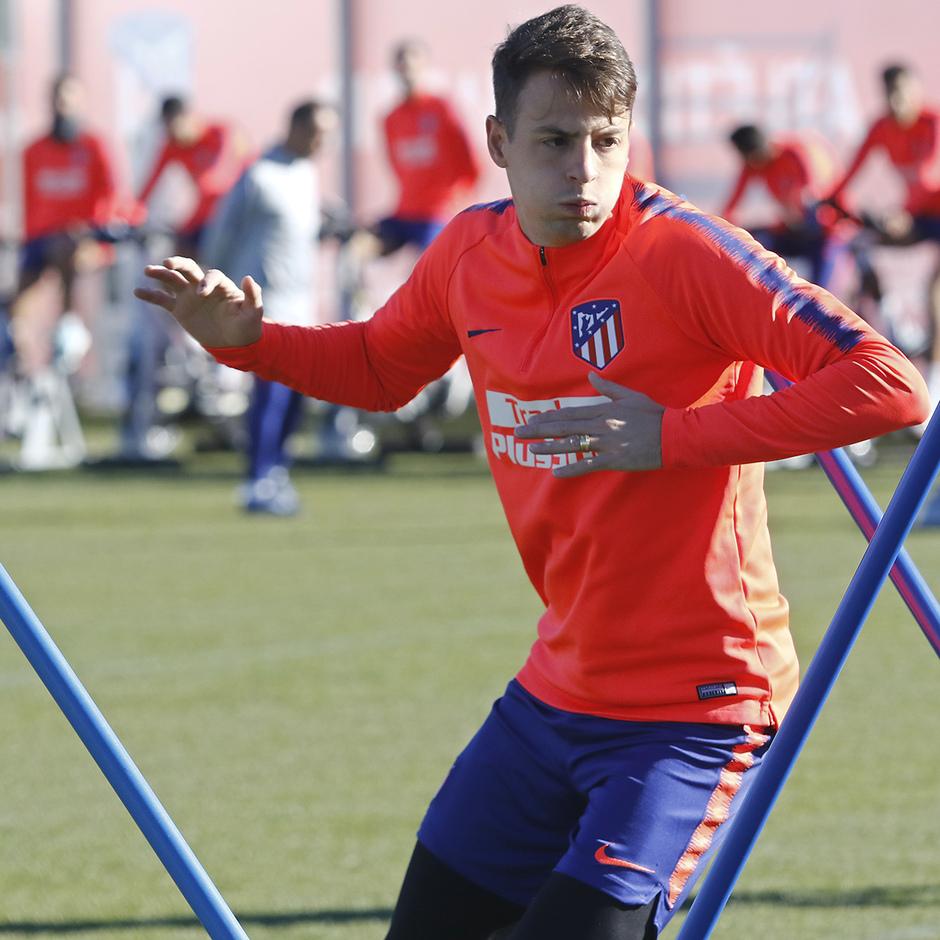 Temp. 18-19 | Entrenamiento Ciudad Deportiva Wanda | Arias
