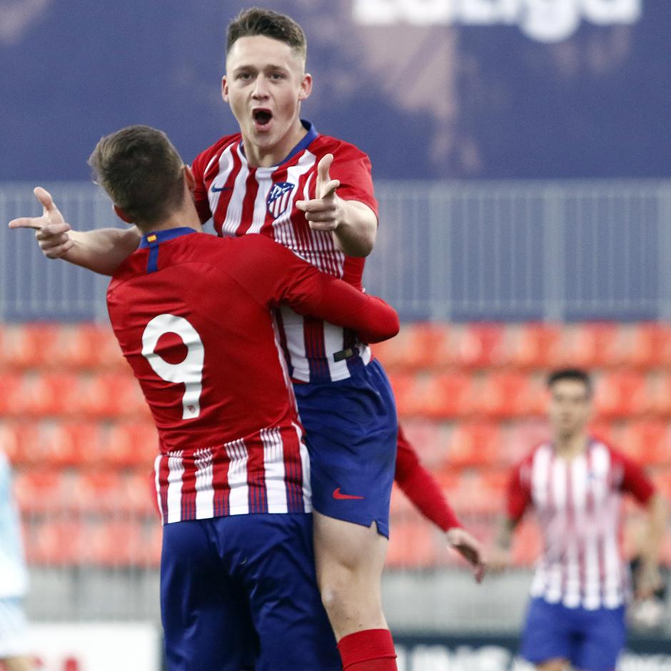 Temp. 18-19 | Atlético de Madrid B - Unión Adarve | Celebración