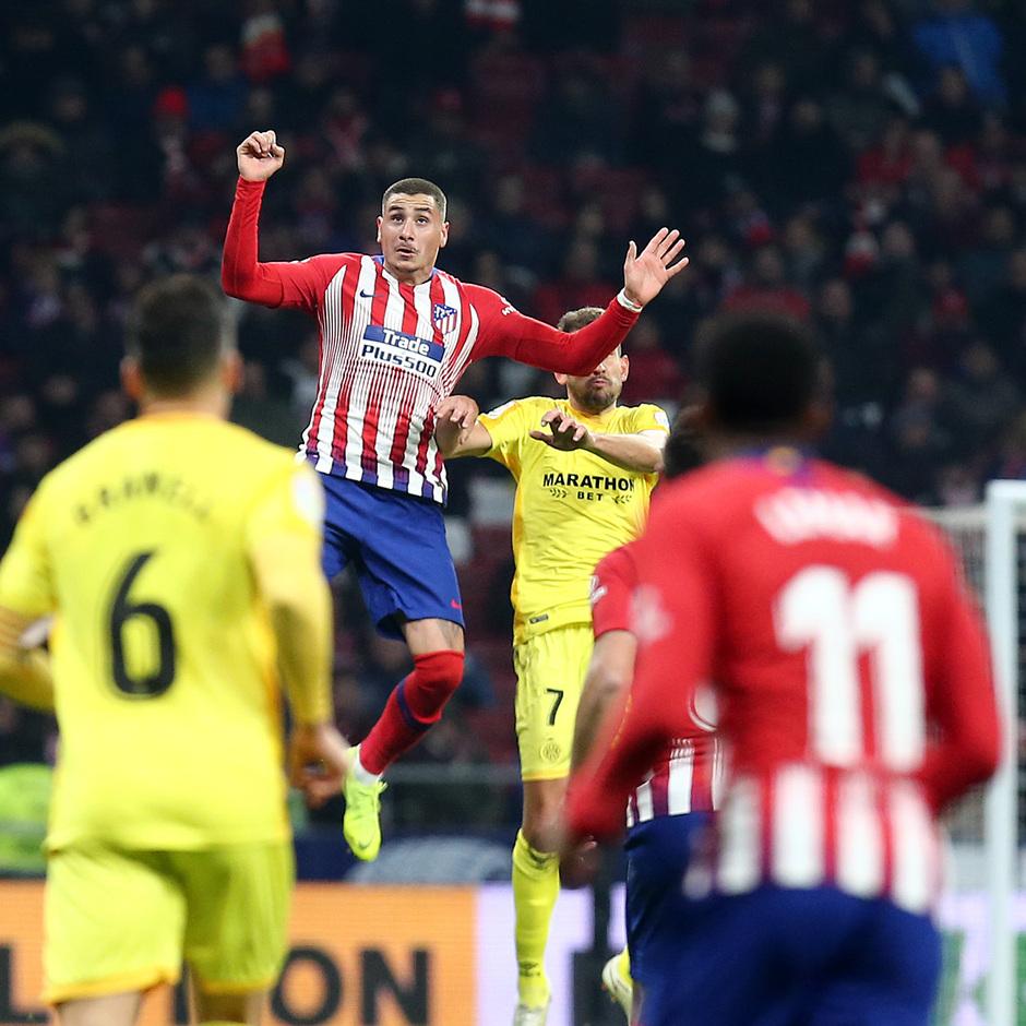 Temporada 18/19 | Atleti - Girona | Copa del Rey | Giménez