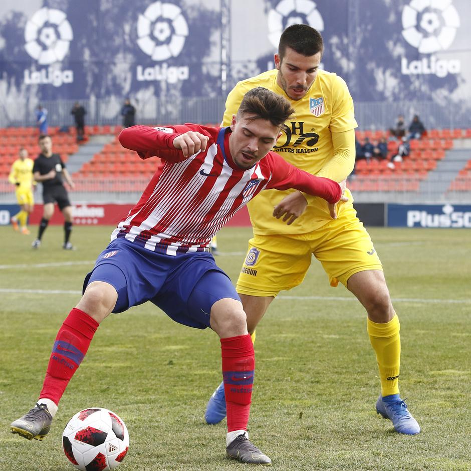 Temporada 18/19 | Atlético de Madrid B - Navalcarnero | Joaquín