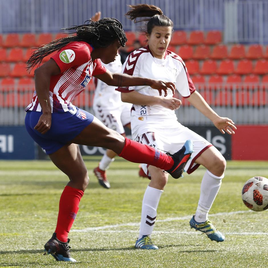 Temporada 18/19 | Atlético de Madrid Femenino - Fundación Albacete | Tounkara