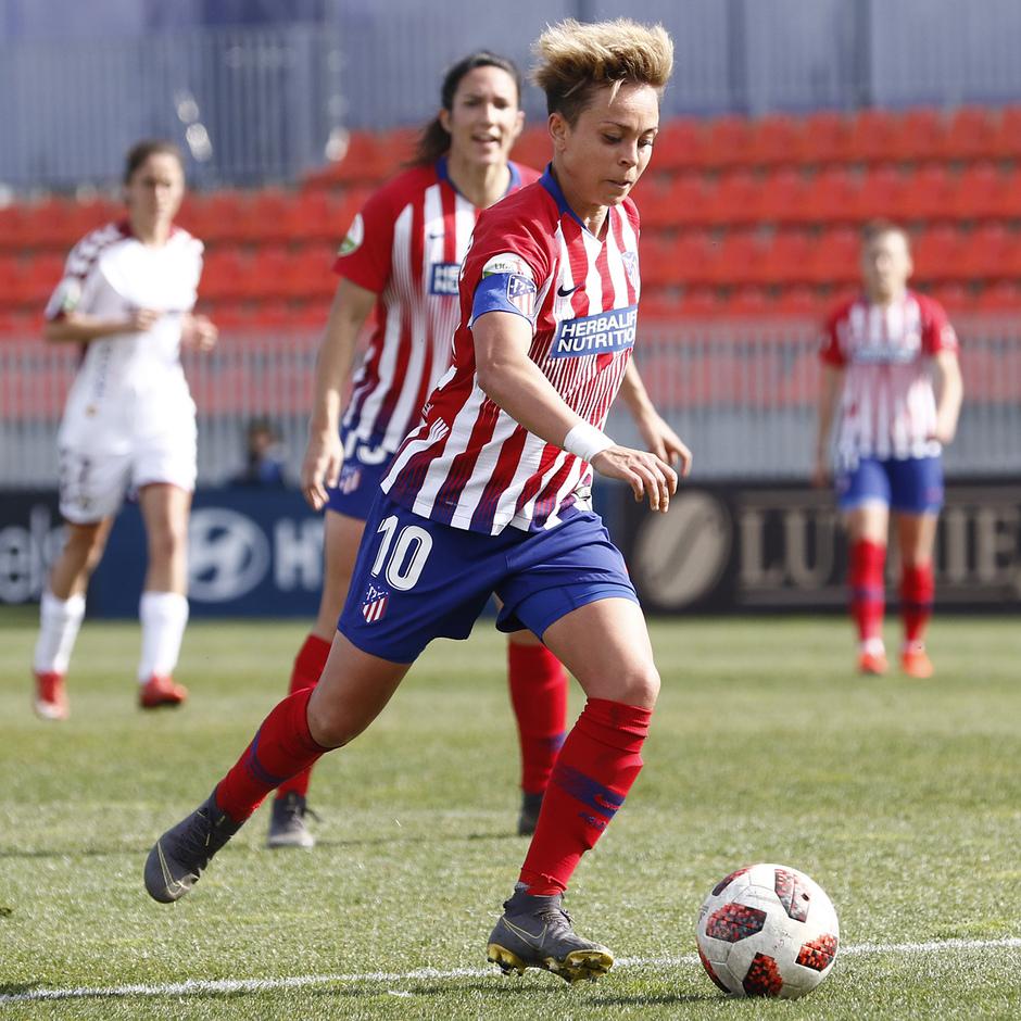 Temporada 18/19 | Atlético de Madrid Femenino - Fundación Albacete | Amanda
