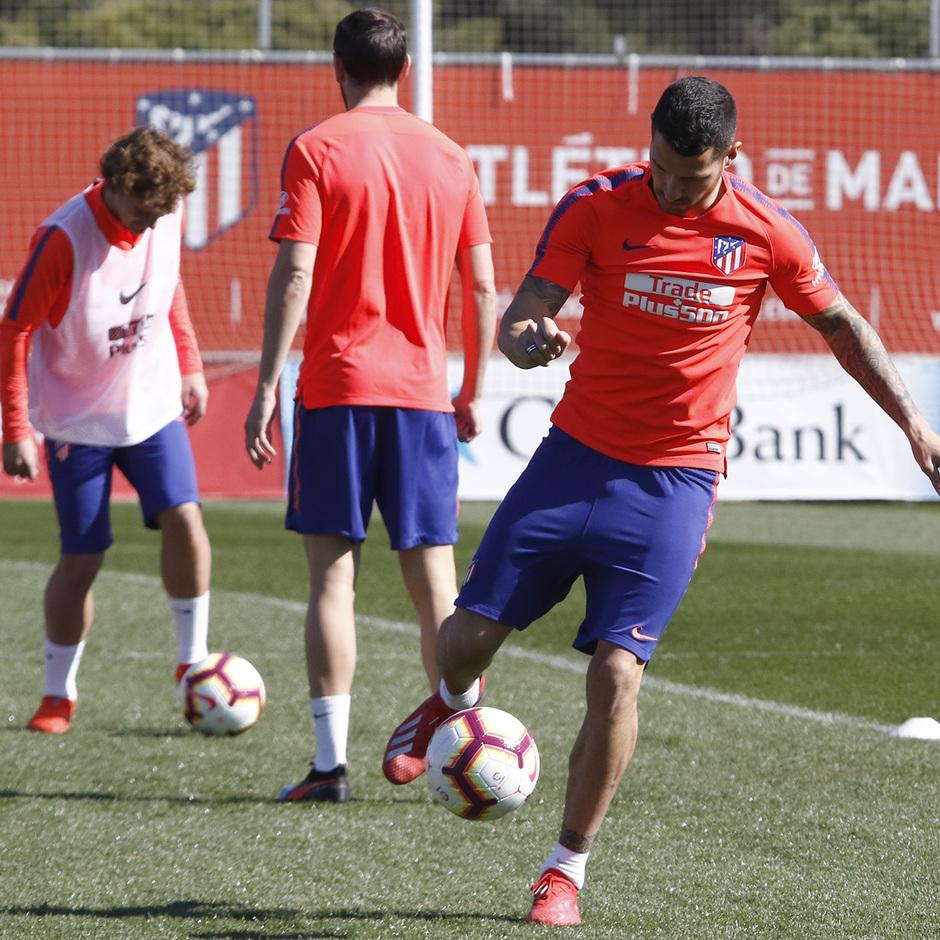 Temporada 18/19 | Entrenamiento del primer equipo | 01/03/2019 | Vitolo