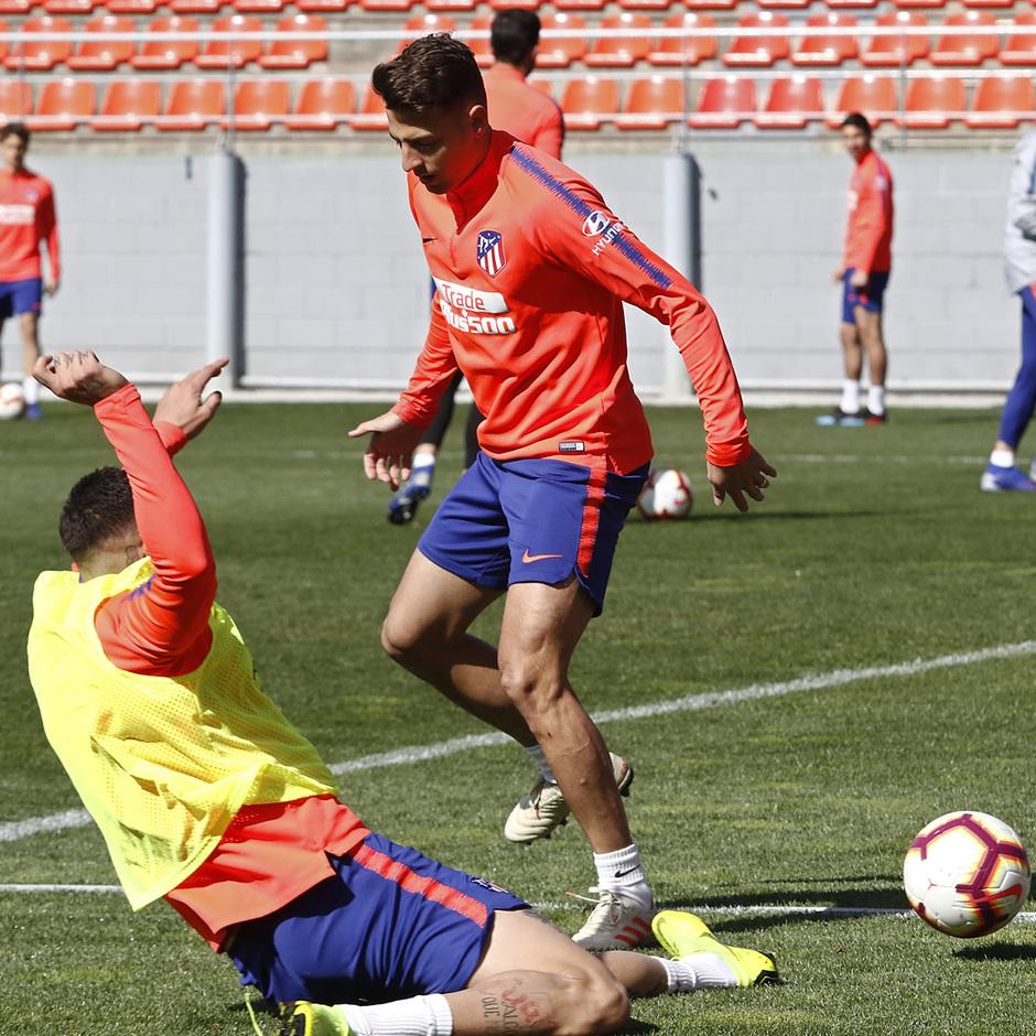 Temporada 18/19 | Entrenamiento del primer equipo | 05/03/2019 | Arias