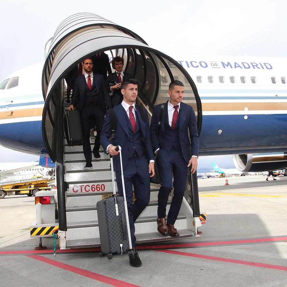 Temporada 18/19 | Juventus - Atlético de Madrid | Llegada | Morata y Vitolo