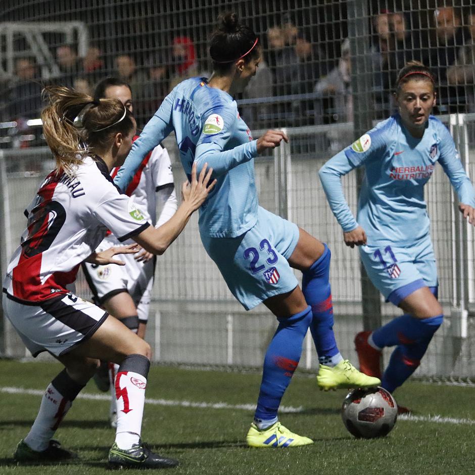 Temp. 18-19   Rayo Vallecano - Atlético de Madrid Femenino   Menayo