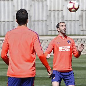 Temporada 18/19 | Entrenamiento del primer equipo |  14/03/2019 | Godín