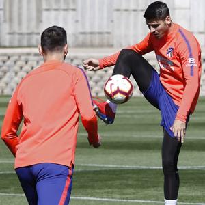 Temporada 18/19 | Entrenamiento del primer equipo |  14/03/2019 | Morata