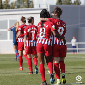 Temporada 18/19 | Levante - Atlético de Madrid Femenino | Ludmila y Esther