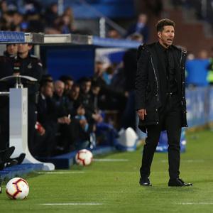 Temporada 18/19   Alavés - Atlético de Madrid   Simeone