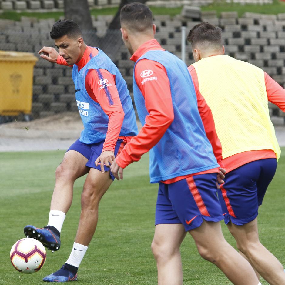 Temporada 18/19 | Entrenamiento del primer equipo | 31/03/2019 | Rodrigo