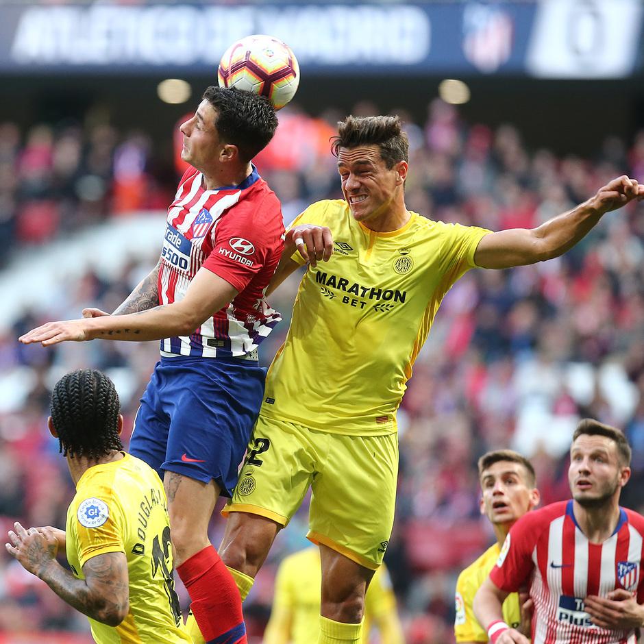 Temporada 18/19 | Atlético de Madrid - Girona | Giménez