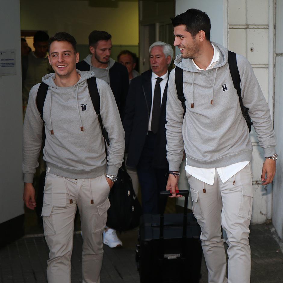 Temporada 18/19 | Eibar - Atlético de Madrid | Llegada | Arias y Morata