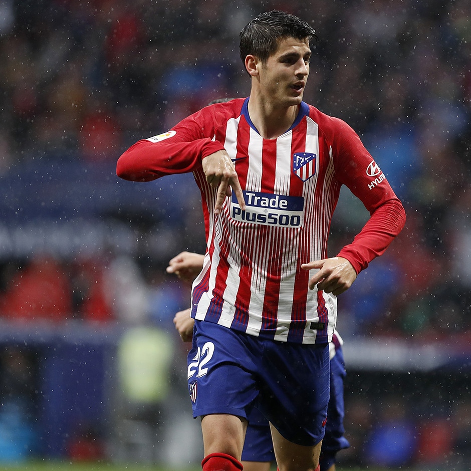 Temp 18/19 | Atlético de Madrid - Valencia | Morata