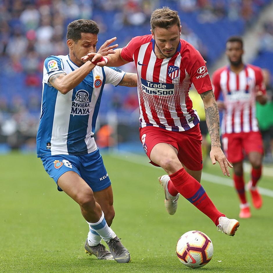 Temp 18/19 | Espanyol - Atlético de Madrid | Saúl