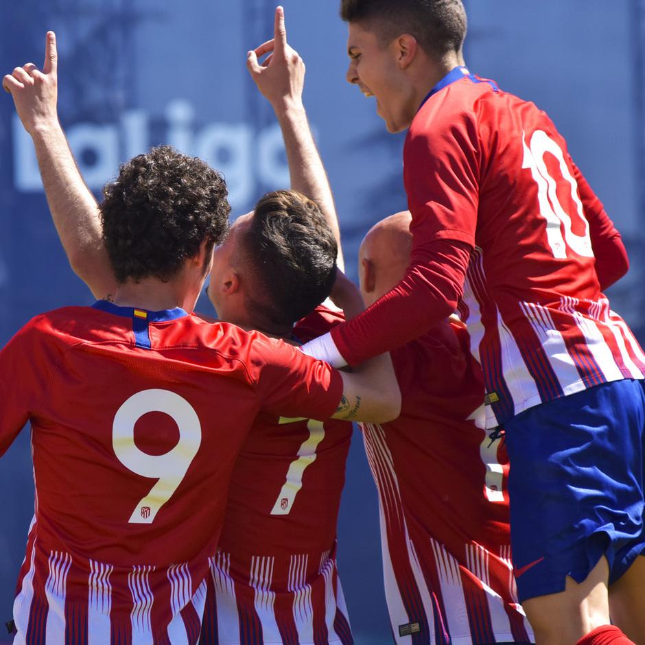Temporada 18/19 | Atlético de Madrid B - Rápido de Bouzas | Joaquín