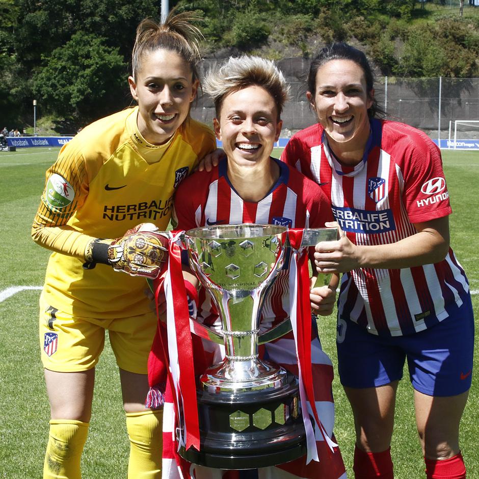 Temporada 18/19 | Real Sociedad - Atlético de Madrid Femenino | Lola, Amanda y Meseguer