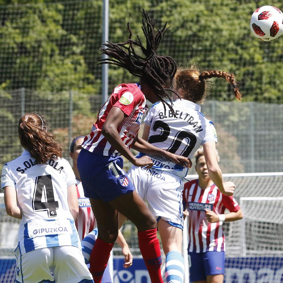 Temporada 18/19 | Real Sociedad - Atlético de Madrid Femenino | Tounkara