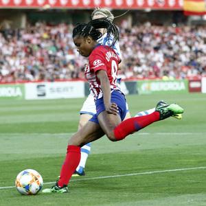 Temporada 18/19   Atlético de Madrid - Real Sociedad   Final de la Copa de la Reina   Ludmila