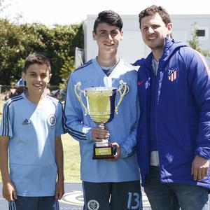 Wanda Football Cup 18/19 | Entrega de premios | New York City (6º posición)
