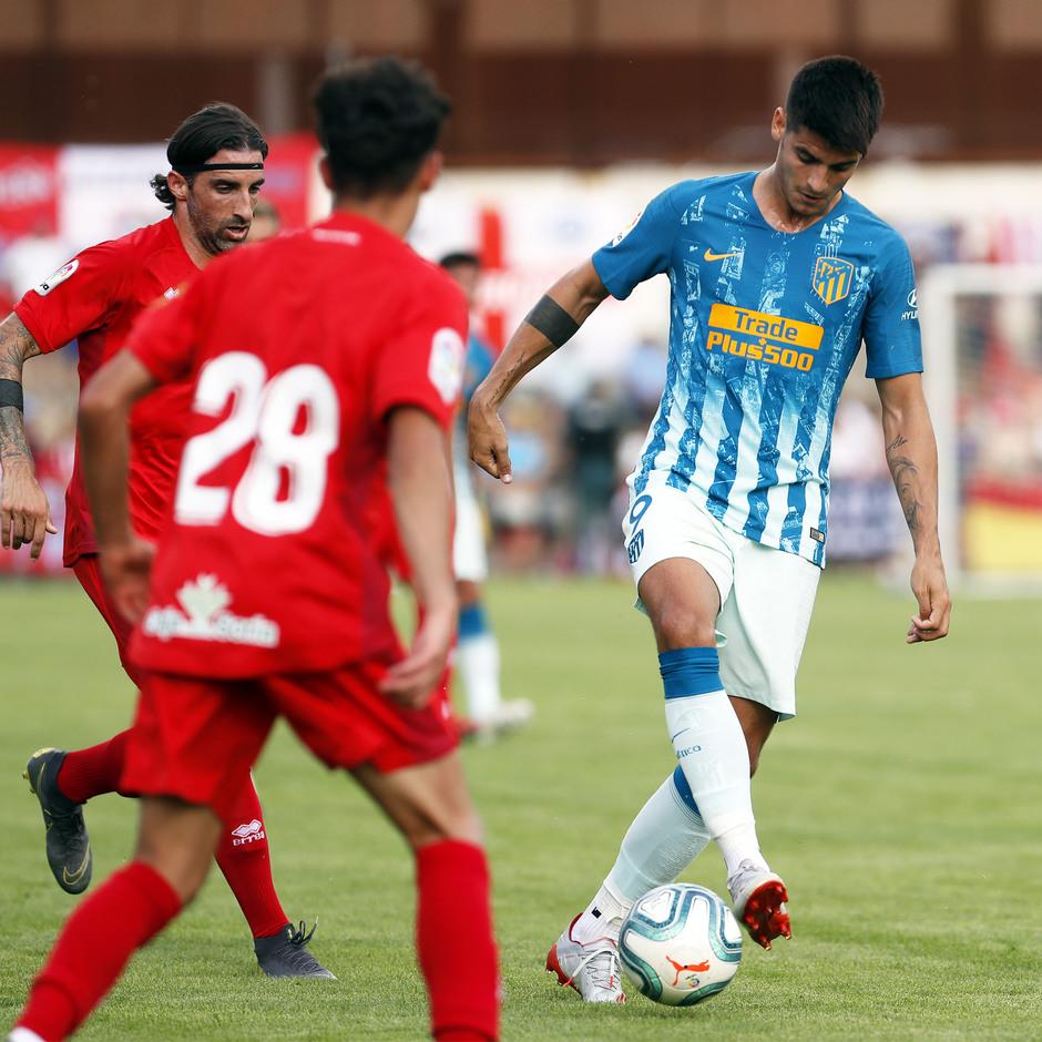 Temporada 19/20 | CD Numancia - Atlético de Madrid | Morata